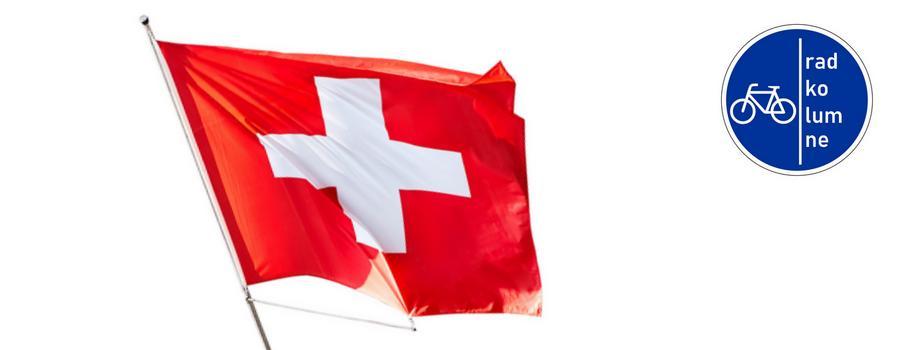 Radfahren in der Schweiz ist sicher